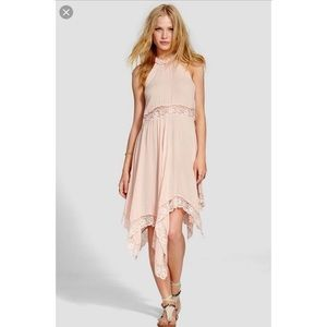 Free People Intimately Go Lightly lace slip dress